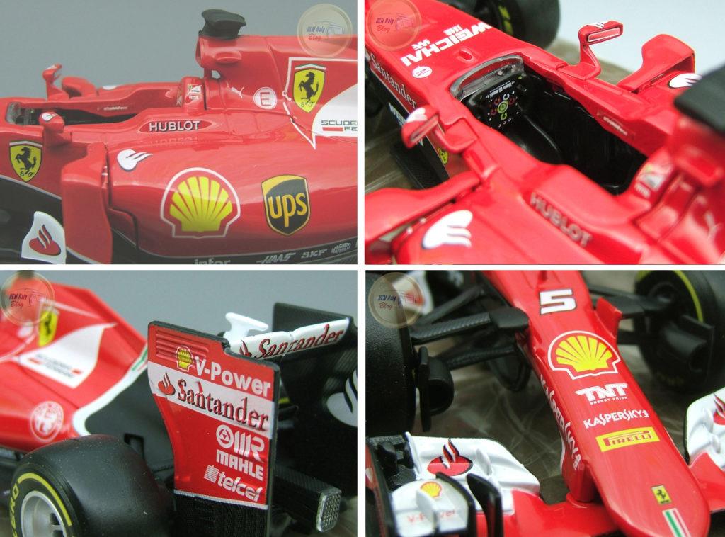Ferrari SF15-T - Red - A