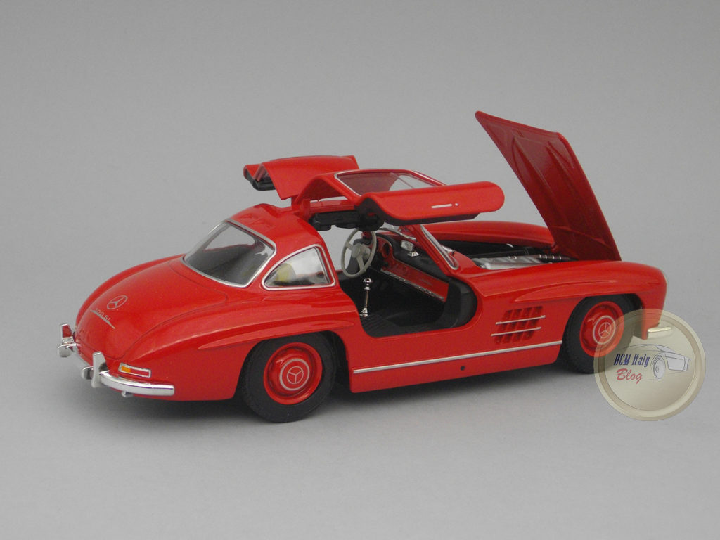 Welly - Mercedes 300 SL - Red - 07