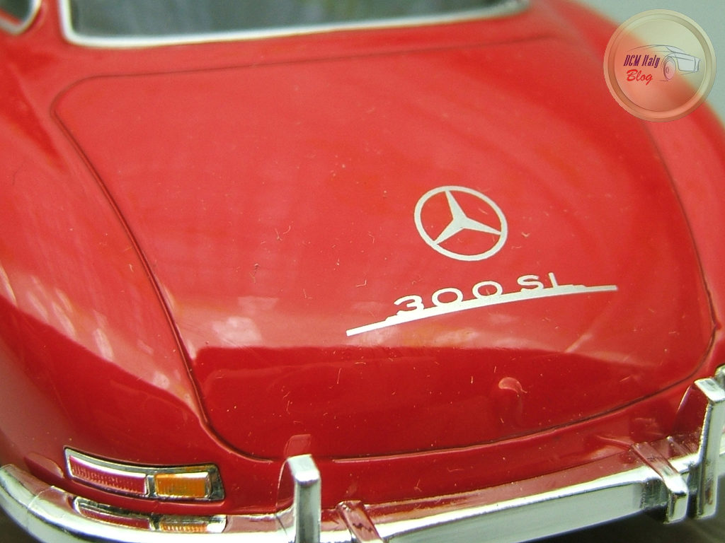 Welly - Mercedes 300 SL - Red - 16