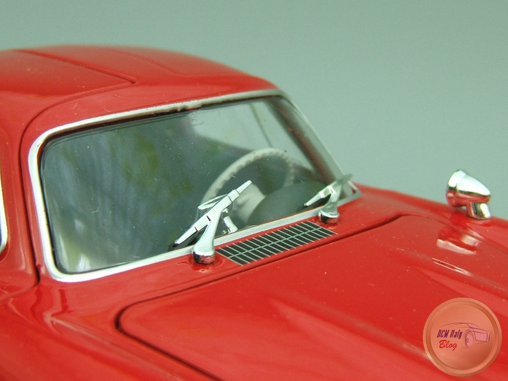 Welly - Mercedes 300 SL - Red - 18