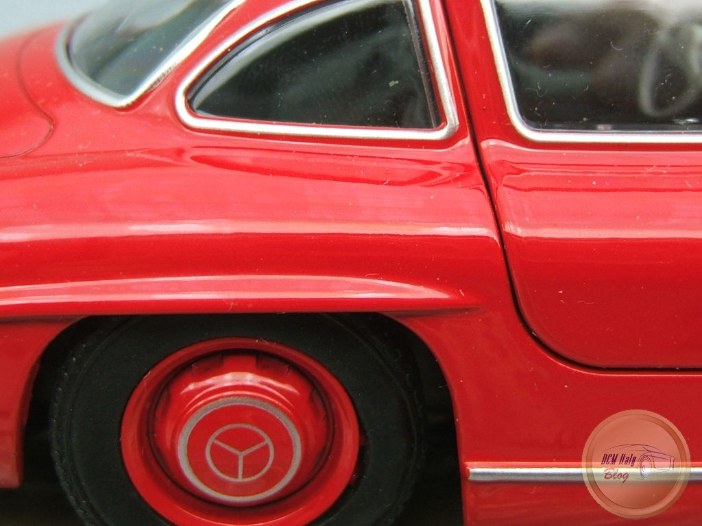 Welly - Mercedes 300 SL - Red - 19